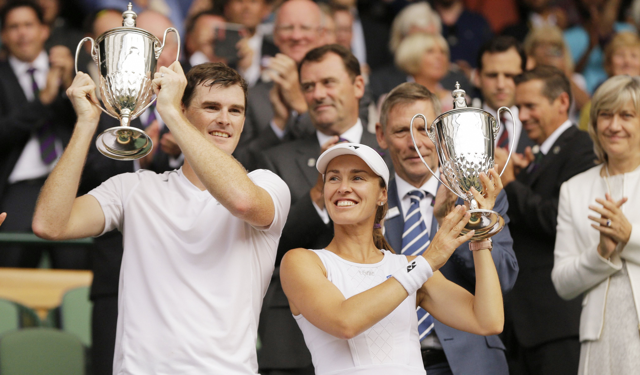 Jamie Murray, Martina Hingis, Doubles Champion, Tennis, Win