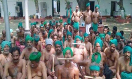 Farmers, Tamil Nadu, Delhi, Protest, PM, Detained, Demand