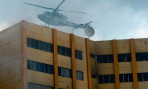 Death, Fire, El Salvador Ministry, Helicopter