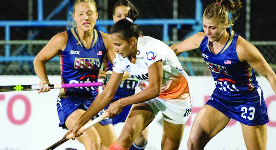 India, Women Team, Lost, US, Hockey