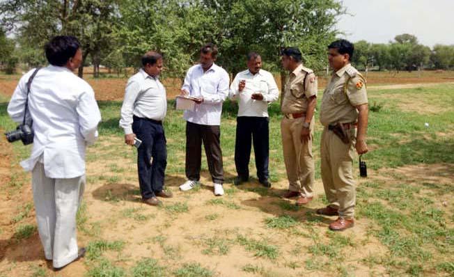 Murder, Father, Son, Land Dispute, Injured, Rajasthan