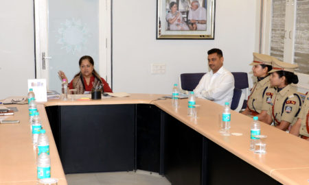 IPS Trainee, Meet, Vasundhara Raje, Police, Obligation, Rajasthan