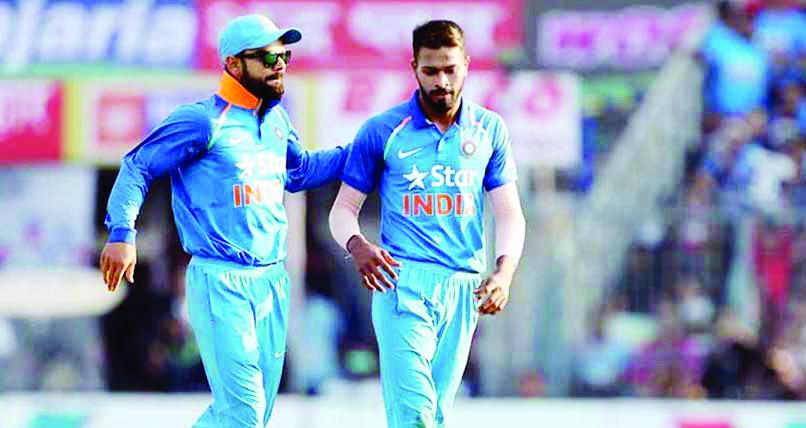 Virat Kohli, Hardik Pandya, Indian, Cricket, Batsman