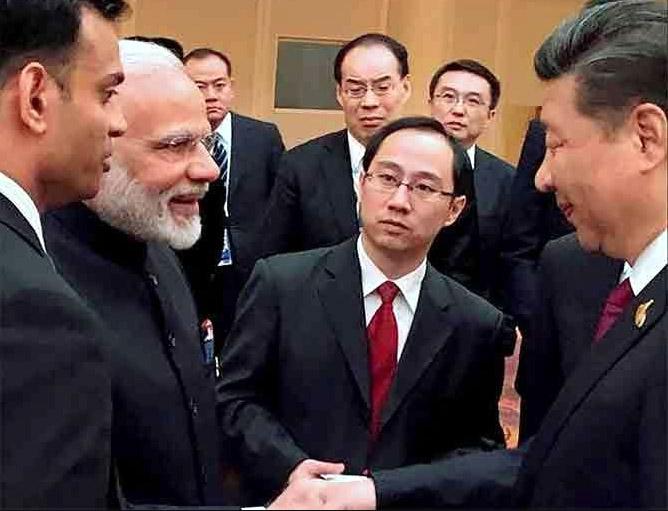 Indian Govt, Narendra Modi, Xi Jinping, Picture