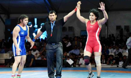 Pooja Insan, Trial, Senior World Champion Ship, Gurmeet Ram Rahim, Dera Sacha Sauda