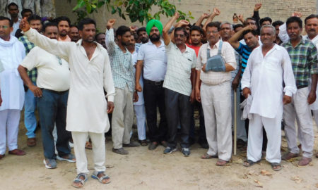 Employees, Protest, Electric Current, Contractor, Punjab