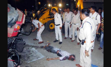 Road Accident, Died, Injured, Hospital, Indore