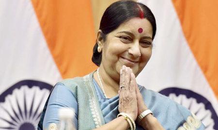 Sushma Swaraj, Daughters, Pakistan, Indian, Tweet, Narendra Modi
