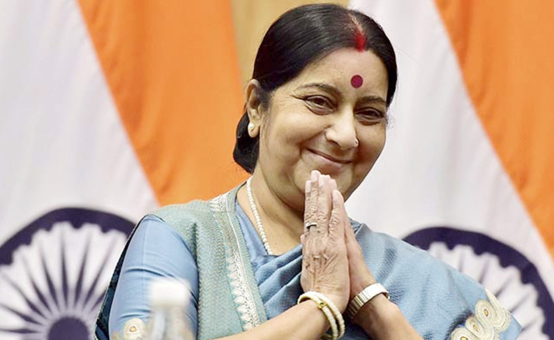 Sushma Swaraj, Daughters, Pakistan, Indian, Tweet, Narendra Modi