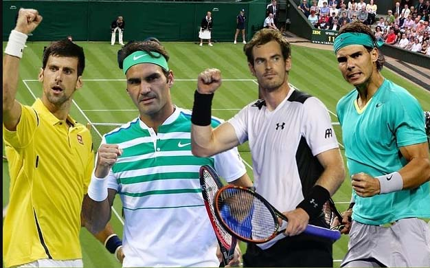 Match, Fabulous Four, Open Tennis Tournament, Grand Slam