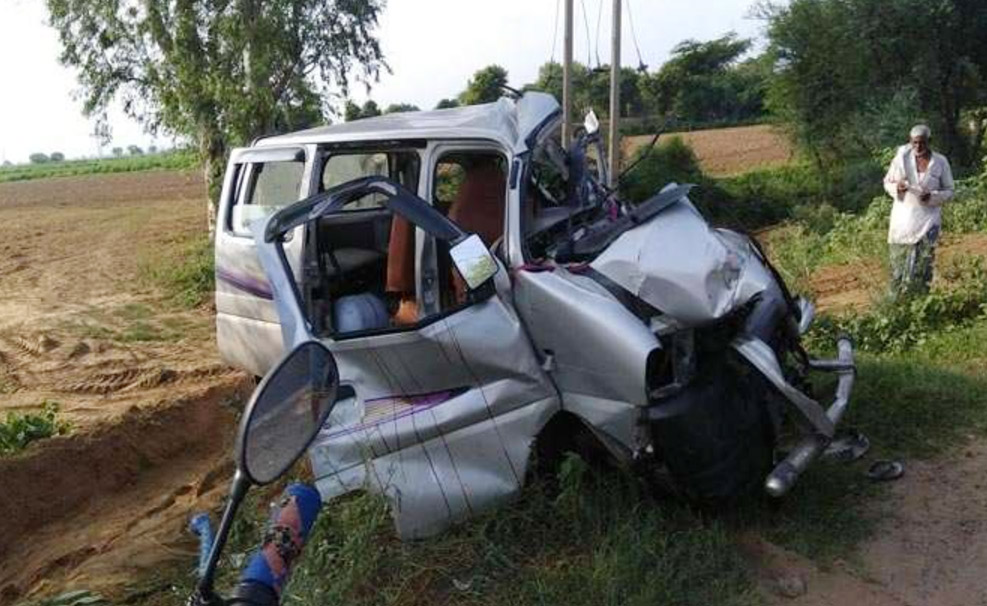 Death, Road Accident, Car, Truck, Collision