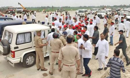 Akhilesh Yadav, Detained, Police, UP