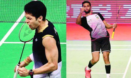HS Prannoy, Parupalli Kashyap, Pre Quarter Finals, Badminton