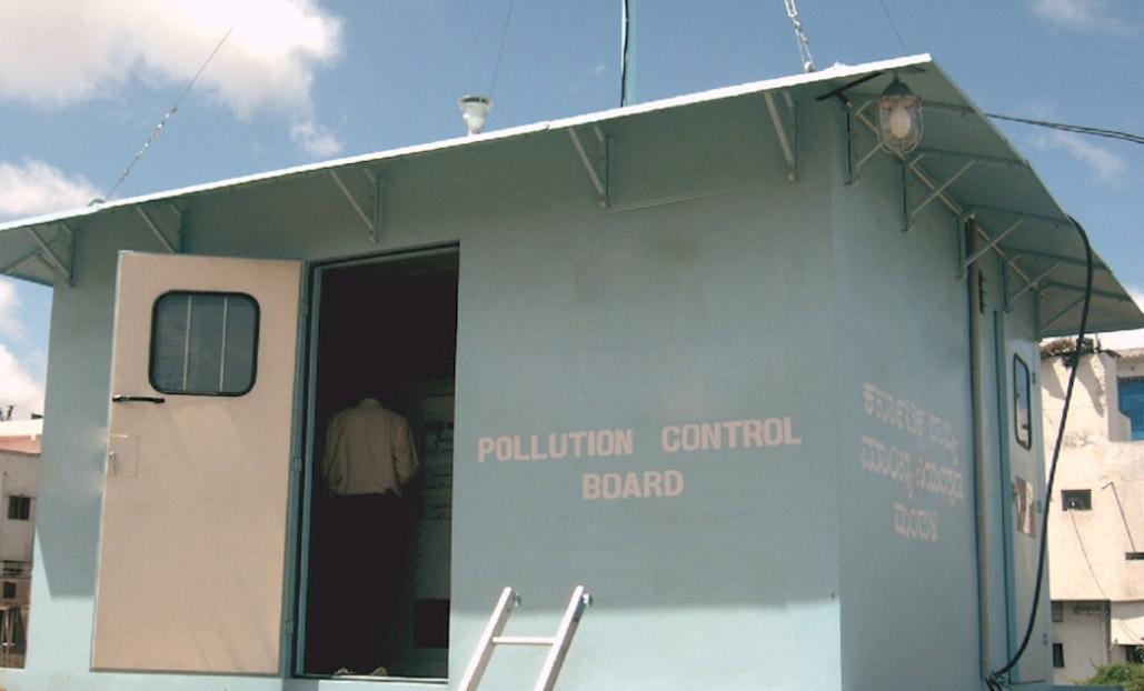 Air Pollution, Online Monitoring, CAAQMS, Haryana