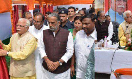 Manohar Lal Khattar, Inauguration, Projects, Development, Haryana
