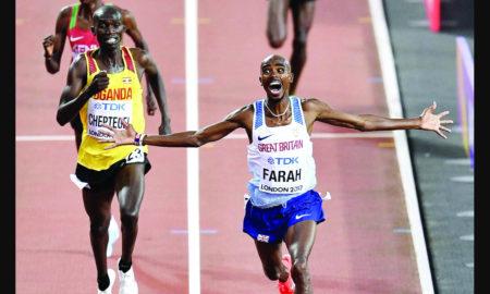 Mohamed Farah, Gold Medal, World Athletics Championship