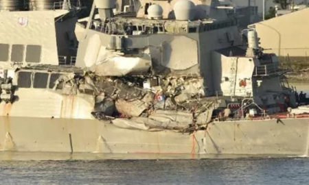 US, Navy Vessel, Crash, Commander Dismissed