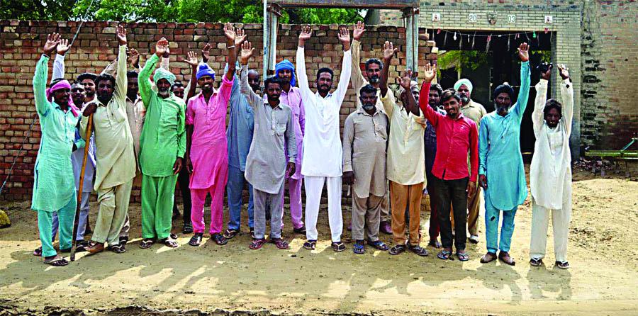 Villagers, Protest, Power Department, Strike, Raised, Haryana