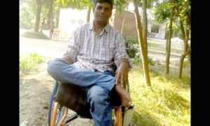 Hindi Article, Inefficient Young, Govt, India, Wheelchair, Rakesh Singh