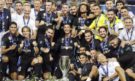 Real Madrid, Won, Super Cup, Title, Football