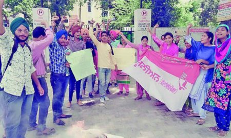 Students, Protest, Government, Raised, Strike, Punjab