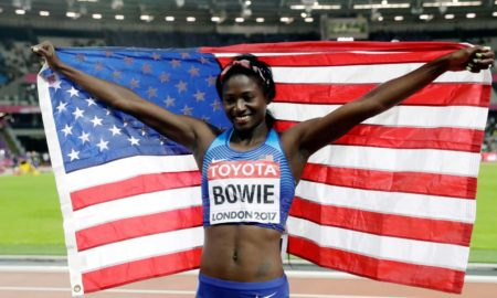 Tori Bowie, Win, World Championships, Athletics