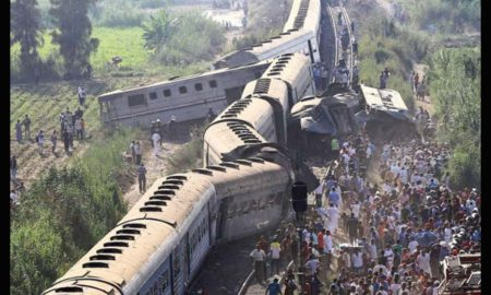 Train, Collision, Egypt, Death, Injured
