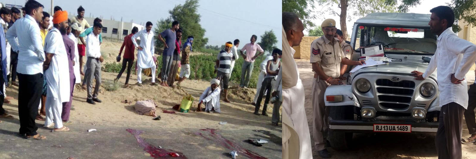 Death, Truck, Collision, Road Accident, Overtake, Rajasthan