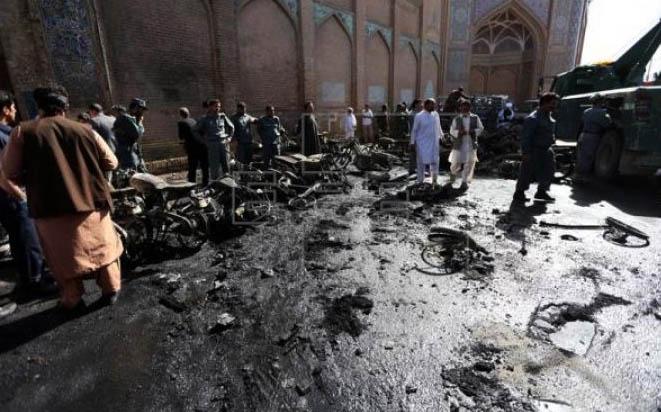 Afghanistan, Mosque, Blast, Death, Suicide Bomber