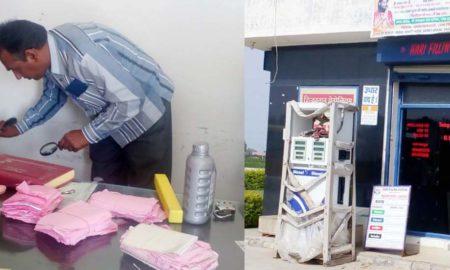 Looted, Petrol Pump, Gunpoint, CCTV, Police, Haryana
