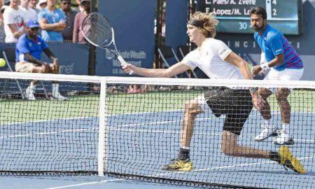 Alexander Zverev, Leander Paes, Cincinnati Open Tennis Tournament