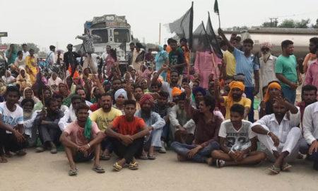 Sarpanch, Disputes, Highway Jam, Protest, Punjab