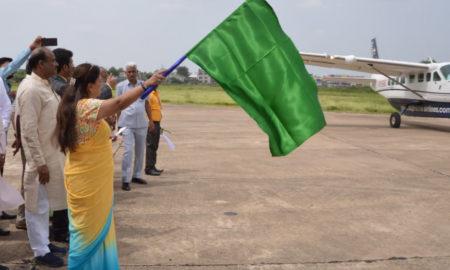 Vasundhara Raje, Air Services, Inauguration, Rajasthan