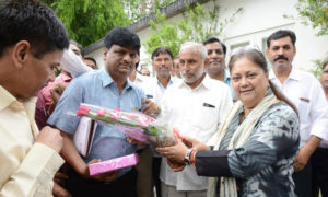 CM, Vasundhara Raje, Staff Federation, Rajasthan