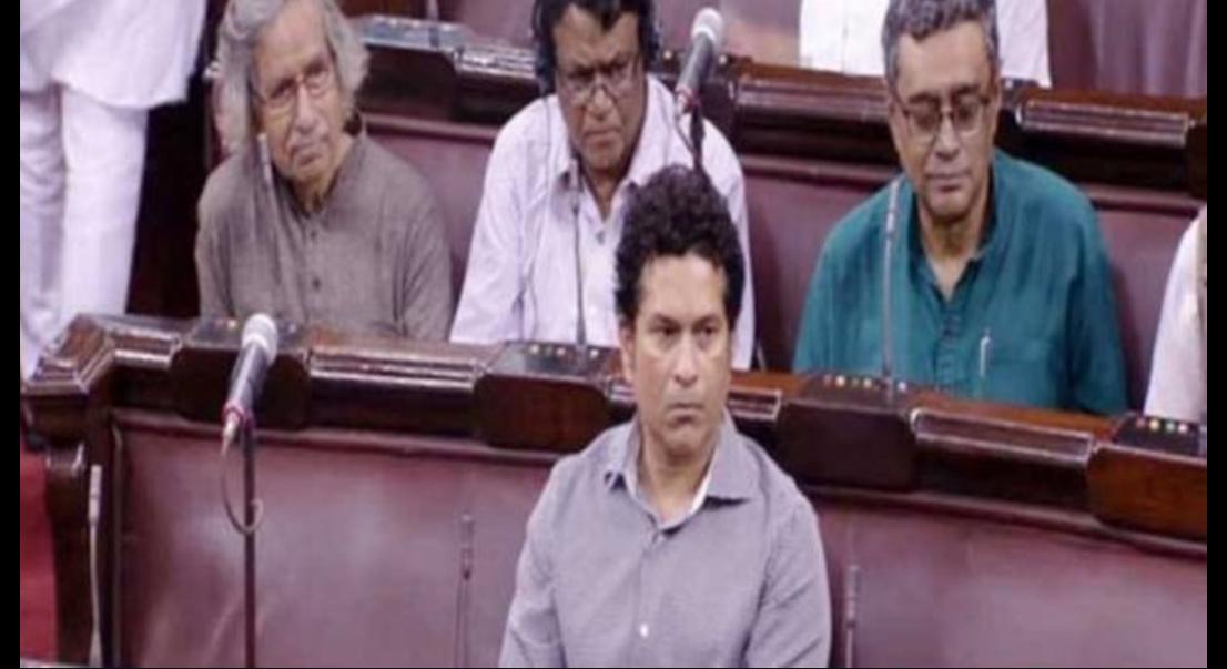 Sachin Tendulkar, Rajya Sabha, Proceedings, Social Media