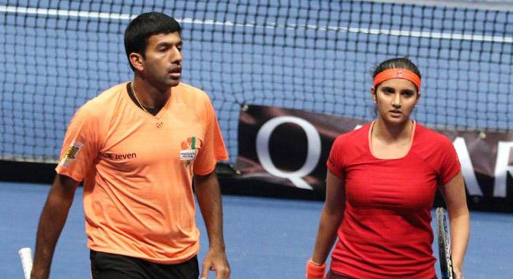 Sania Mirza, Rohan Bopanna, Cincinnati Masters, Tennis