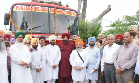 Navjot Singh Sidhu, Fire Brigade, Government, Punjab