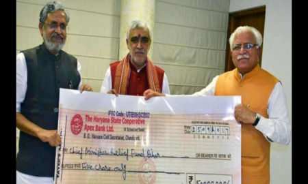 Haryana, Relief, Flood, Affected, States