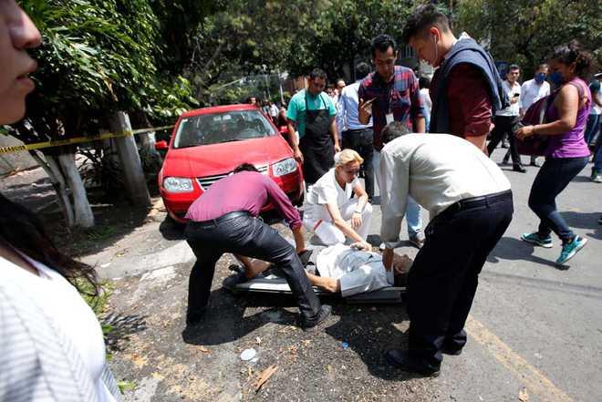 Earthquake, Mexico, Civil Protection, Agency