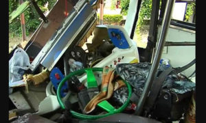 Road Accident, Bus, Truck, Collision, Haryana