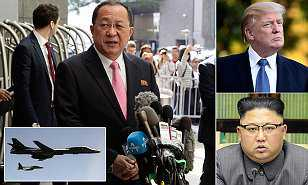 North Korea, US, War Warns, ShootDown, US_Bombers