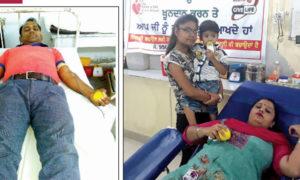 Welfare Works, Dera Sacha Sauda, Blood Donation