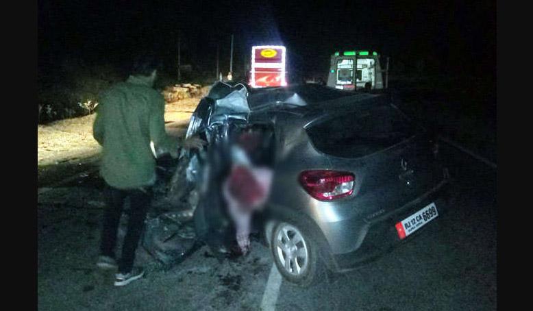 Road Accident, Died, Udaipur, Rajasthan