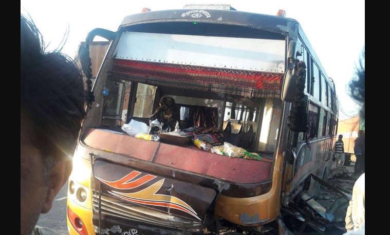 Road Accident, Bhilwara, Injured, Rajasthan