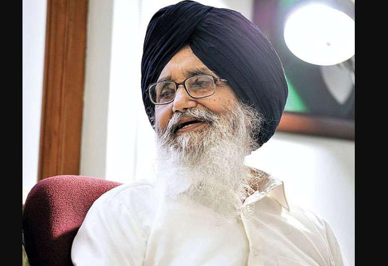 Terrorism, Congress, Government, Punjab, Conditions, Former CM, Parkash Singh Badal