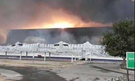 Fire, Factory, Sanitary Pads, Rajasthan