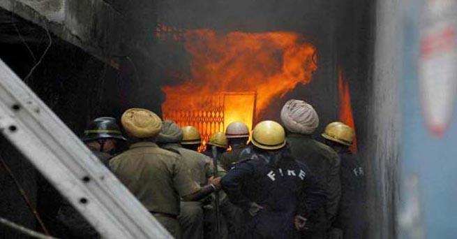 Fire, kamla Market, Capital, Store, New Delhi
