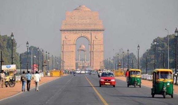 Light Summer, Capital, Morning, New Delhi
