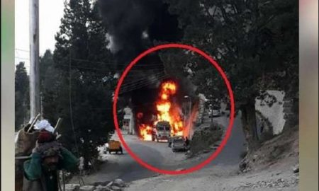 Terrible, Fire, Place, Petrol Pump, Carts, Burnt, Ashes