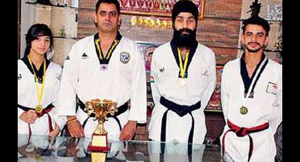 Players, National Taekwondo, Championship, Punjab